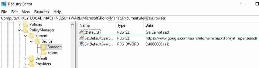MDM Registry