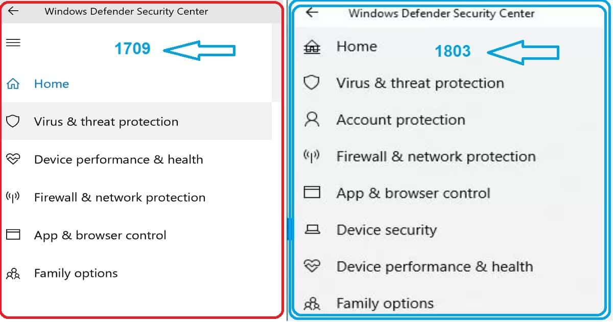 Windows 10 1803 Security Enhancements