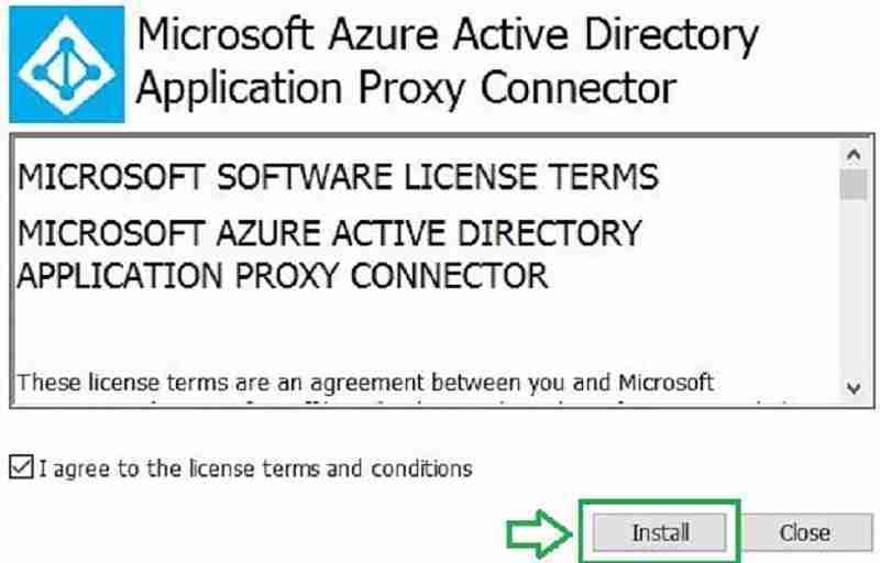 install Application proxy