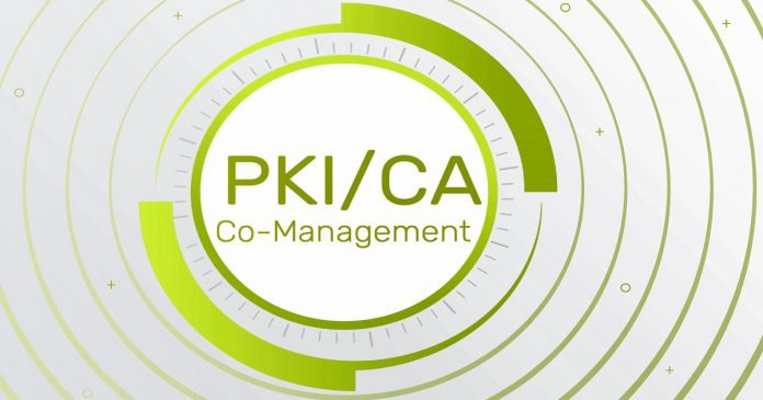 Co-Management PKI CA Setup Certificate