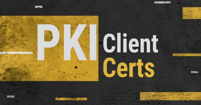 Client PKI certificates