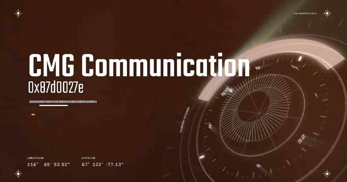 SCCM CMG Client Communication Failure