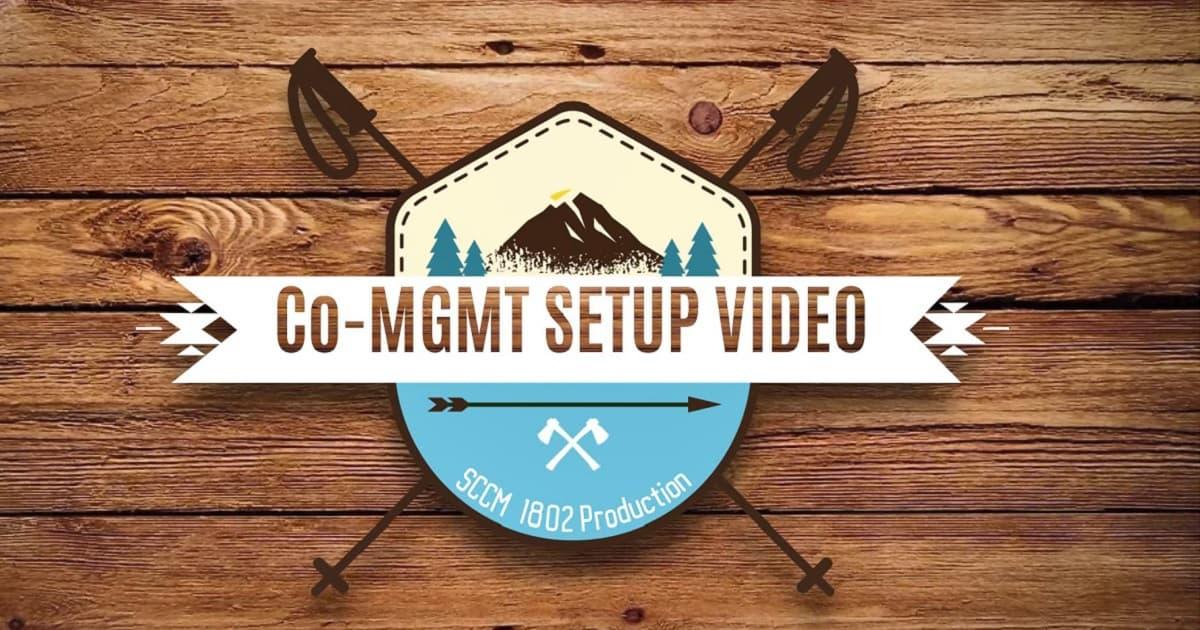 SCCM Co-Management Configuration Setup