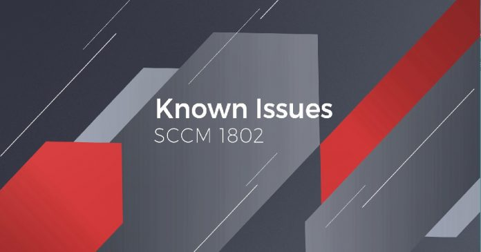 How to Fix SCCM 1802 Known Issues - Update Rollup