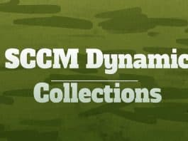 SCCM Dynamic Collection