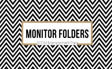 SCOM Monitoring Folders Files