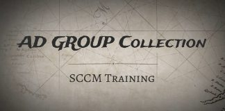 Create AD Group Based SCCM Collections