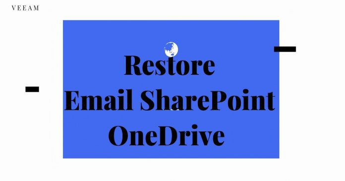 Restore Emails OneDrive SharePoint Data