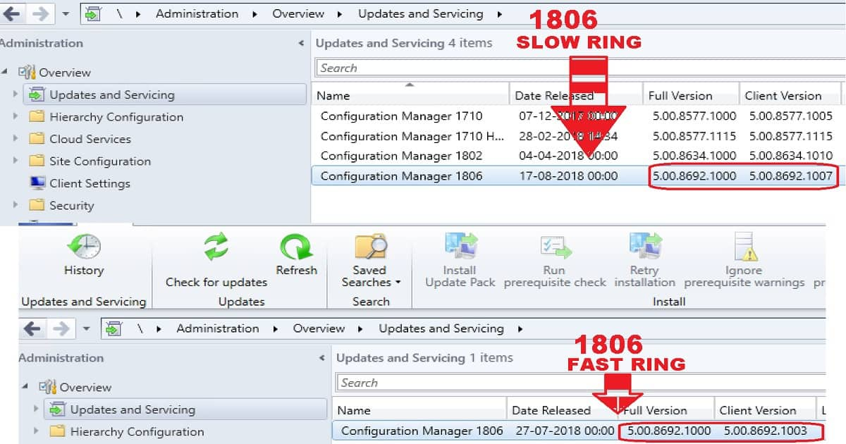 SCCM 1806 Slow Ring Released by Microsoft | anoopcnair com