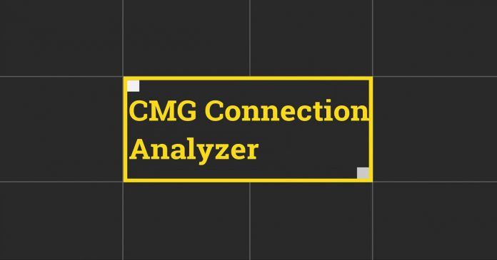 SCCM CMG Connection Analyzer Tool