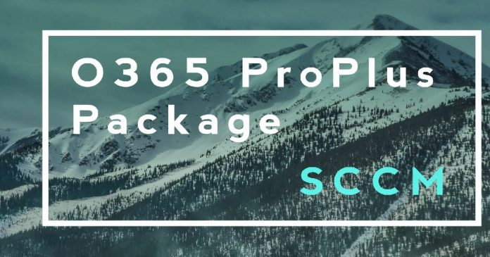 Office 365 ProPlus Client Package Office Customization Tool