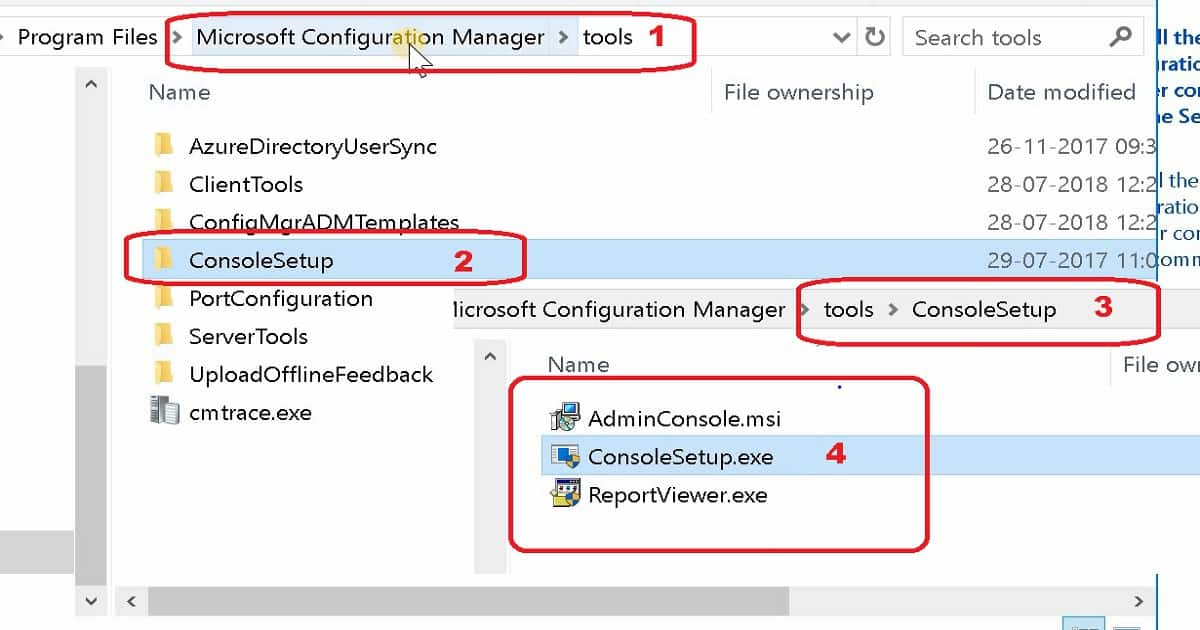 Install SCCM Console Remotely - Source Files