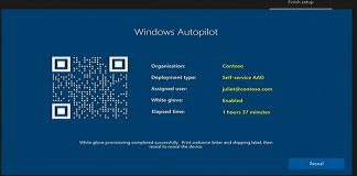 Windows Autopilot Deployment - white glove