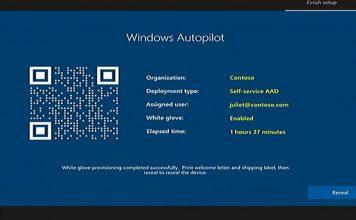 Windows Autopilot Deployment - white glove