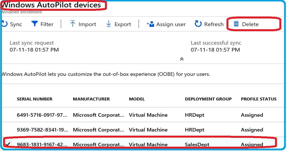 Repurpose Existing Devices to Windows Autopilot