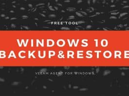 Free Windows 10 Backup Tool