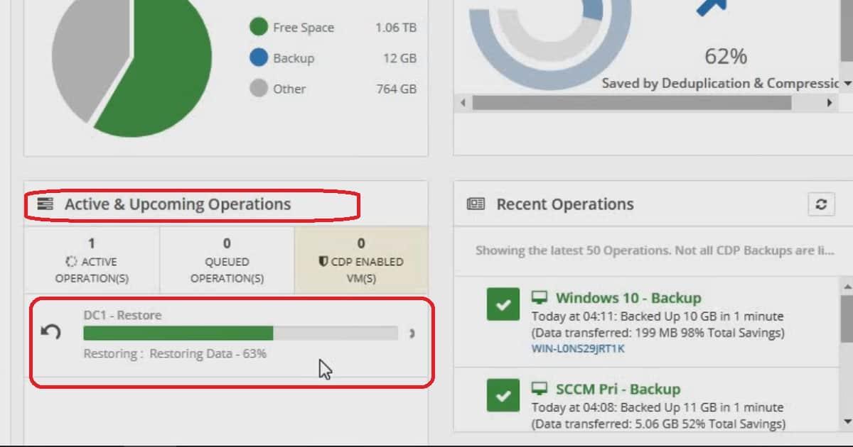 Hyper-VM Restore Monitor