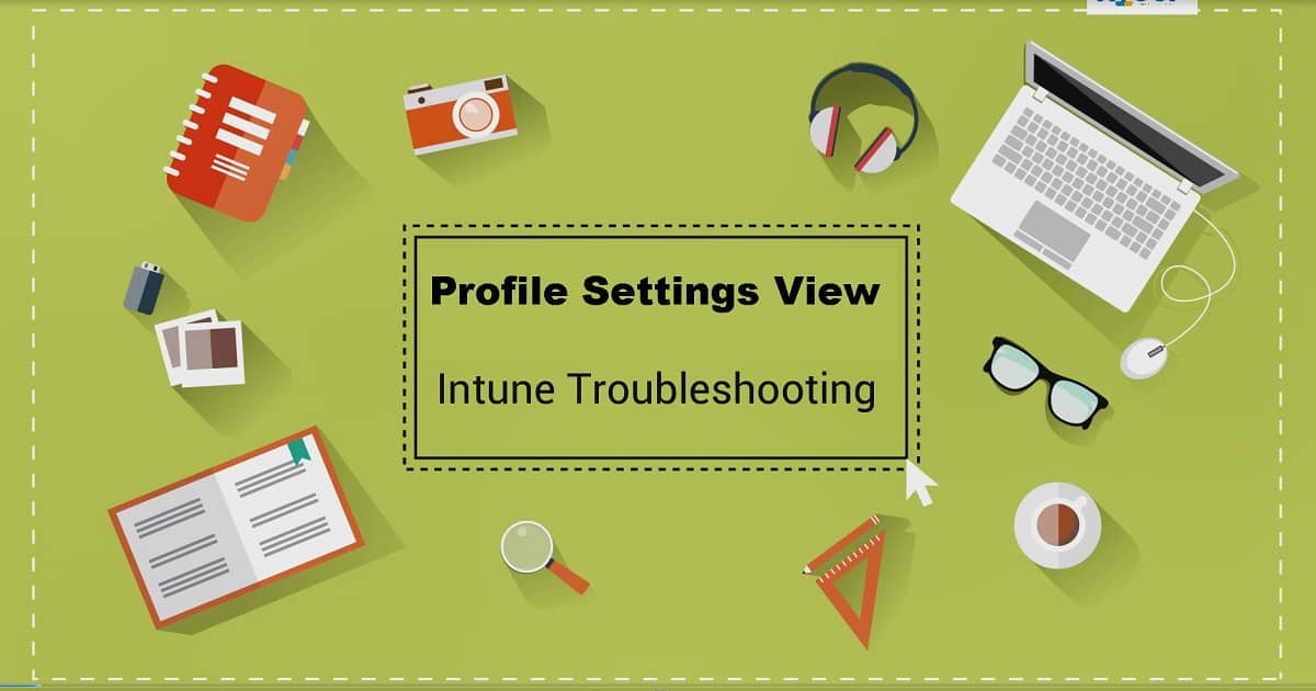 Configuration Profile Settings View to help Intune
