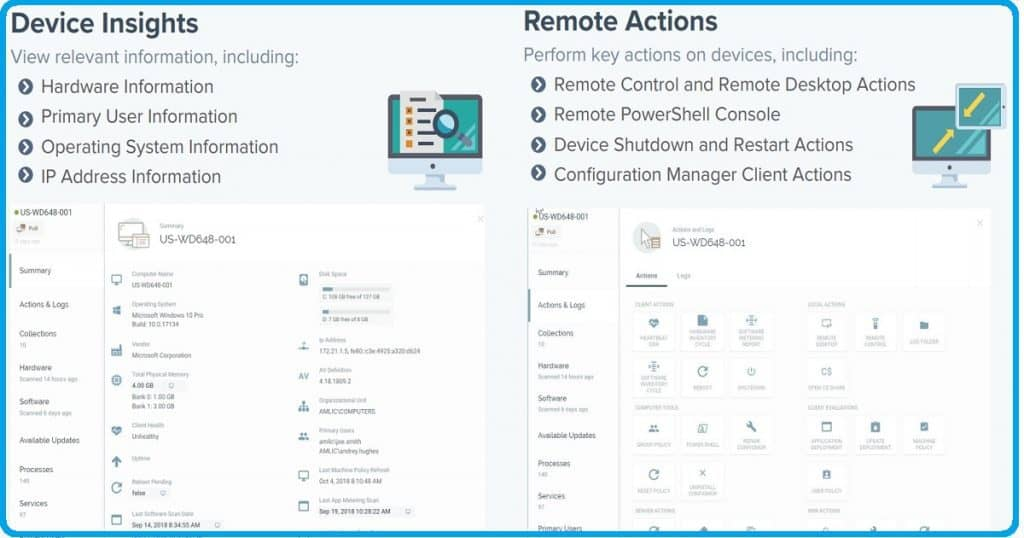 SCCM Tasks Delegation Remote Management Apps - Cireson