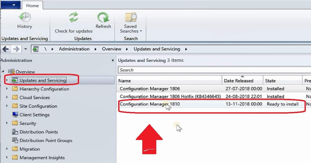 SCCM-1810-Upgrade
