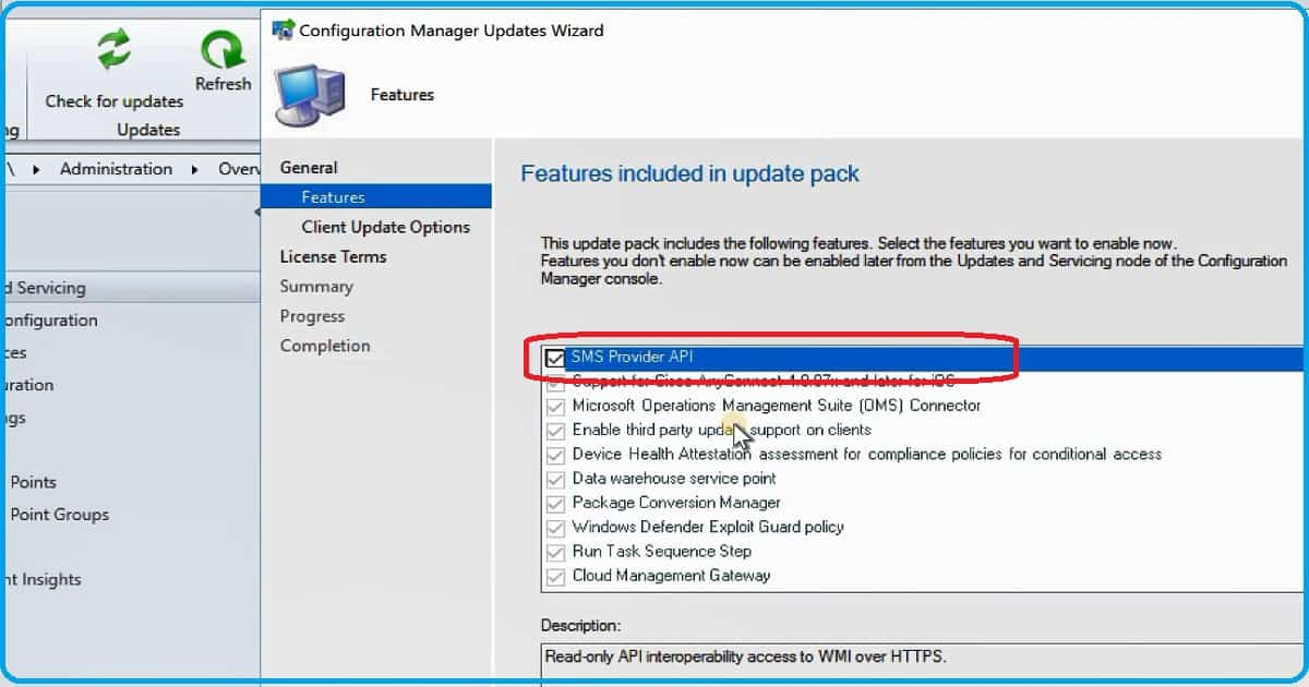 SCCM 1810 Upgrade