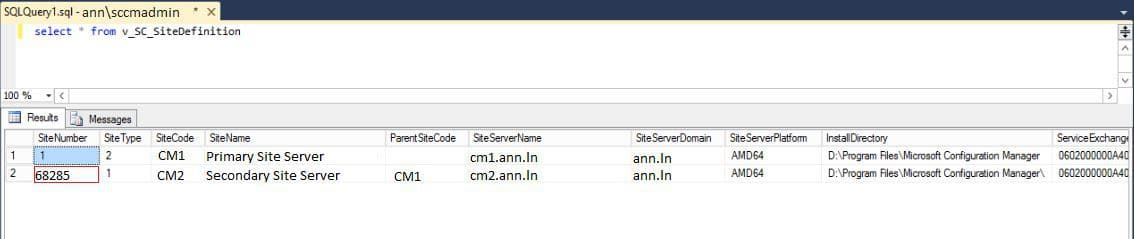 SCCM Secondary Site Upgrade Issue FIX 1