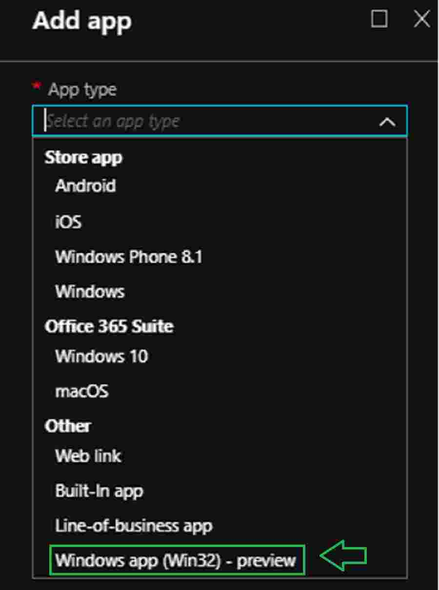 Windows app (Win32)