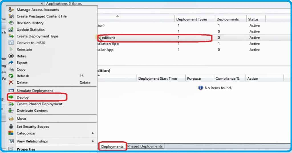 SCCM MSIX App Deployment Guide to Deploy 7Zip.MSIX 1