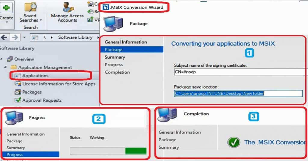 SCCM MSIX Conversion Process 13 Step Guide - anoopcnair com