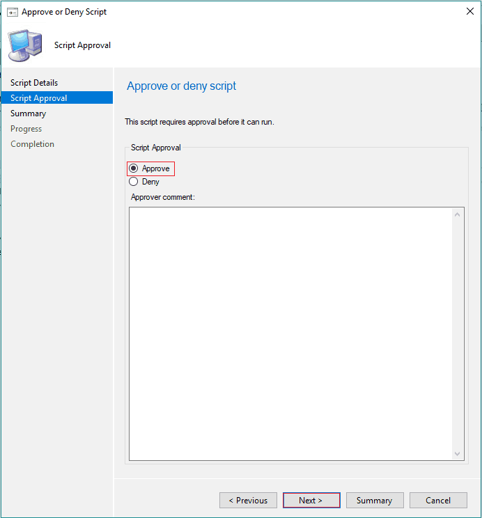 SCCM Run Script Deployment Step by Step Guide - Uninstall 7Zip without Package 4