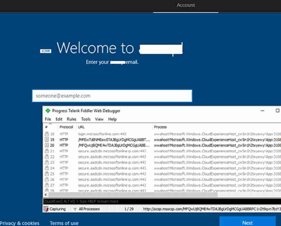 Windows Autopilot profile download