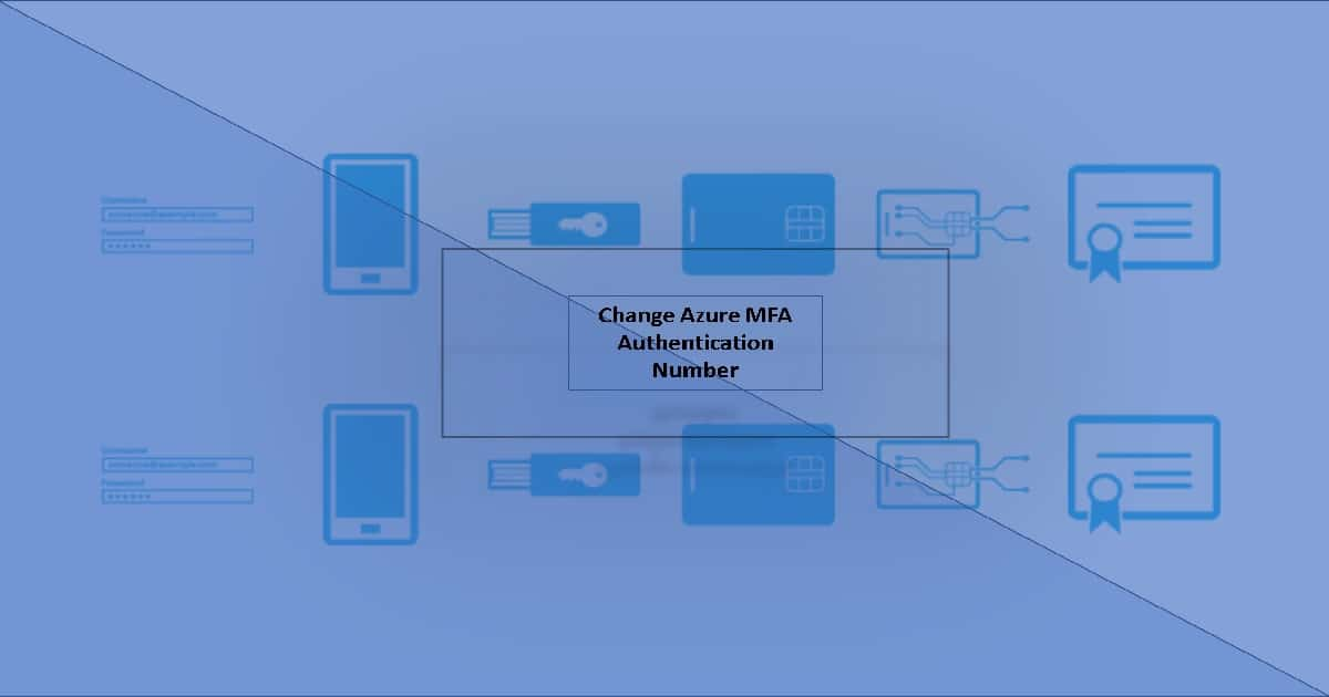 Change Azure MFA Authentication Phone Home