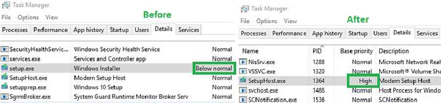 Task Sequence Windows Setup Process
