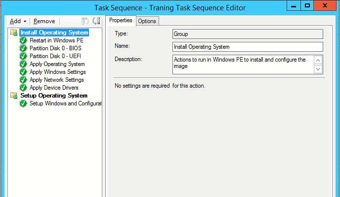 How to Create SCCM Task Sequence