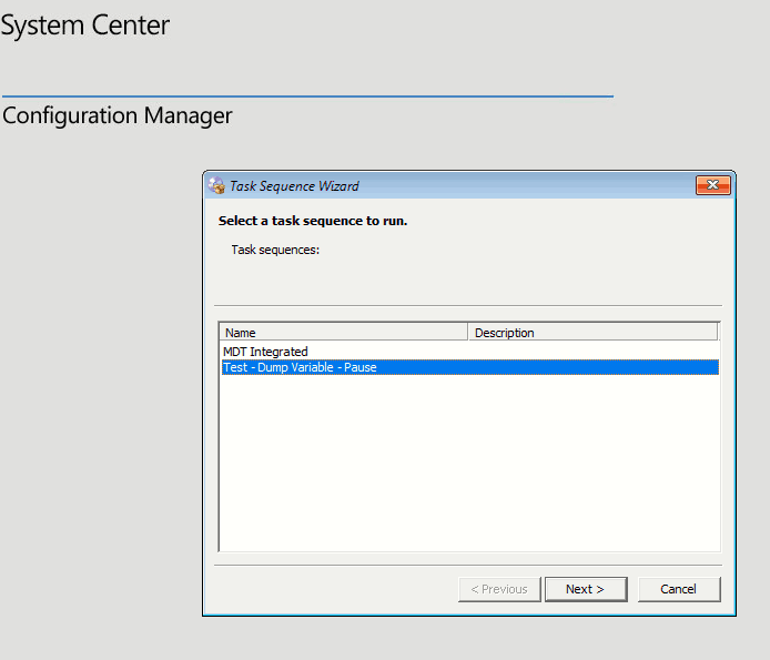 Select a Task Sequence to run - How to Create SCCM Task Sequence Step by Step Guide