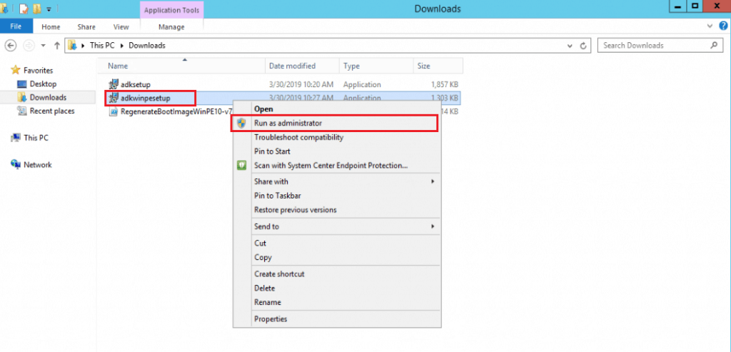 Update Windows ADK Step by Step Guide for SCCM Admin 1809