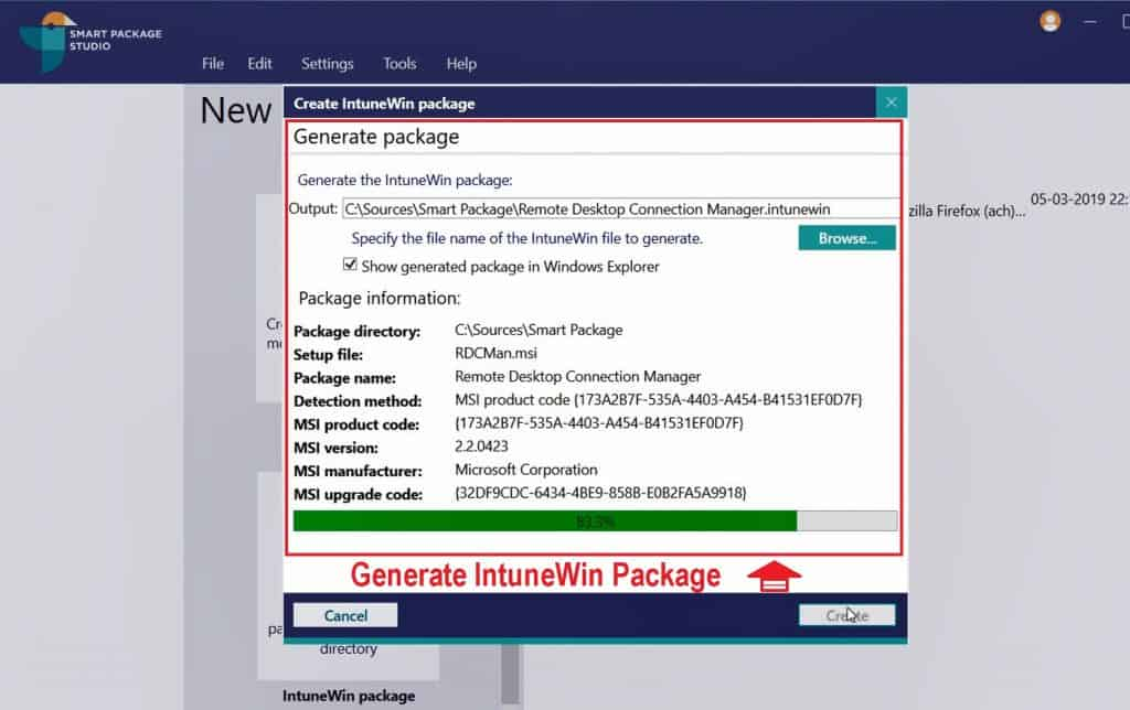 IntuneWin Packages