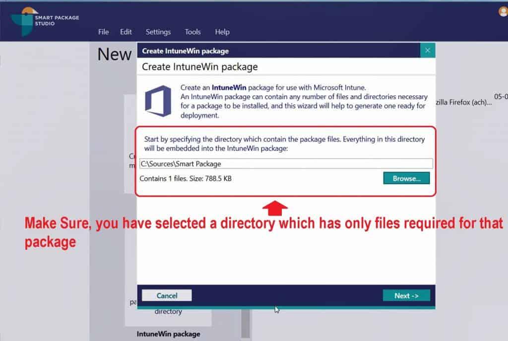 Convert MSI to IntuneWin Packages Smart Package Studio IntuneWin Tool 1