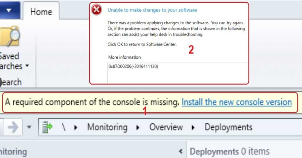 SCCM 1902 Known Issue Remote Console Installation Failed