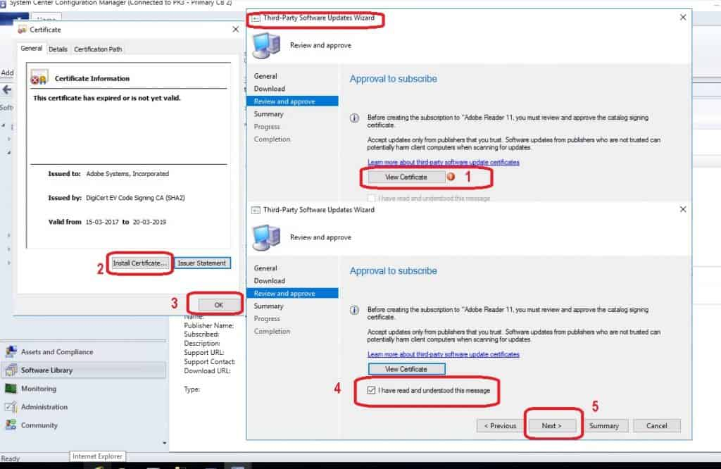 SCCM Third-Party Software Updates Setup Step by Step Guide Post 1 5