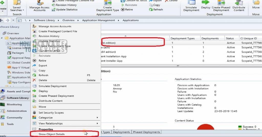 SCCM Tools Tips - Hidden Workspace