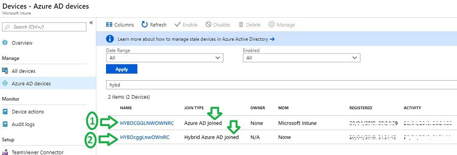 Computer naming template Windows Autopilot Hybrid Azure AD Join