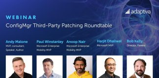SCCM Third-party Patching Webinar