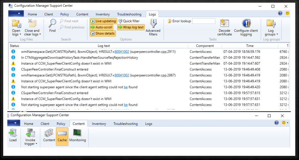 SCCM content source location priority