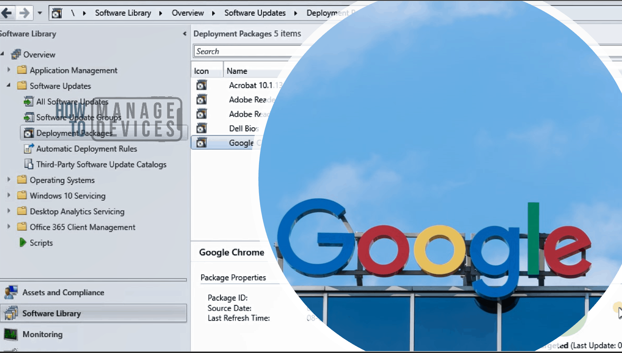 Patch Chrome with SCCM