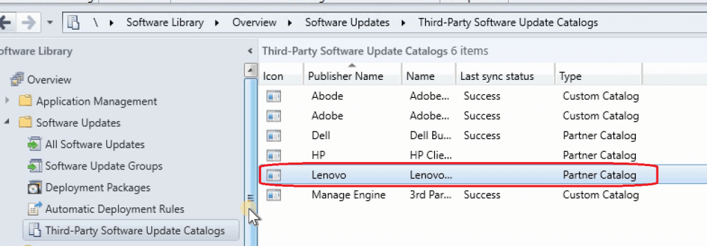 SCCM 1906 New Features - 3rd Party Software Updates