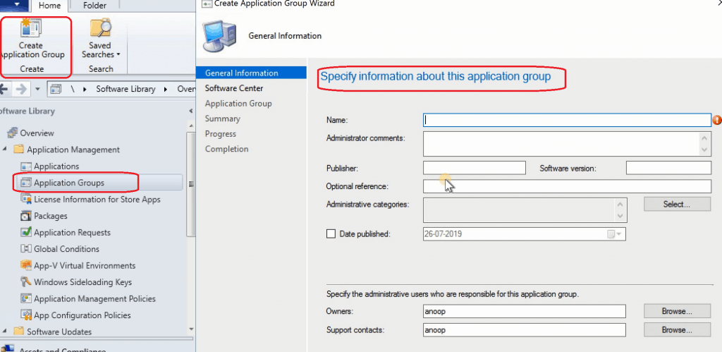 SCCM 1906 New Features - Group Mutiple Applications - SCCM Application Group