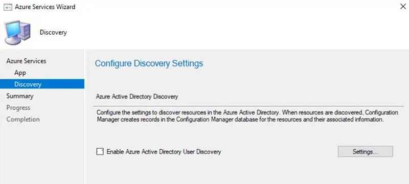 Azure active directory user discovery