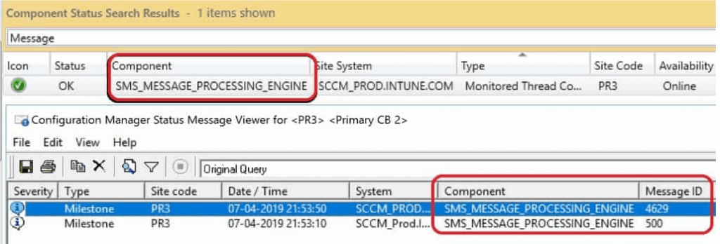 SCCM Status Message Viewer Tool - SMS_Message_Processing_Engine