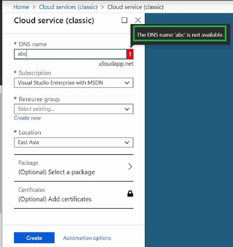 Cloud service CMG - New SCCM CMG Setup Guide